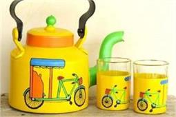 Tea pot डैकोरेशन से किचन को दें नया रूप