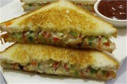 हल्की-फुल्की भूख मिटाएं मेयोनेज sandwich