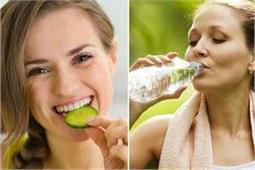 खीरा खाने के बाद कभी न पीएं पानी, सेहत को होगा नुकसान