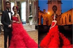 इंडियन करोड़पति की पोती ने वैडिंग में पहना लाखों का रफ्फल गाउन!
