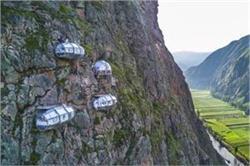400 फुट की ऊंची पहाड़ियों पर बना है दुनिया का यह सबसे खतरनाक होटल