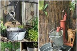 पुरानी चीजों को रीयूज करके बनाएं Fountains