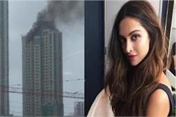 जिस बिल्डिंग में दीपिका रहती है वहां लगी भीषण आग, ट्वीट कर कहा...