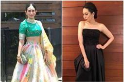 इंडियन हो या वैस्टर्न हर आउटफिट में क्लासी लगती हैं करिश्मा, देखिए खुबसूरत तस्वीरें