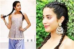 Fashion Tip: जाह्नवी की तरह आप भी पंजाबी स्टाइल में पहने धोती सलवार