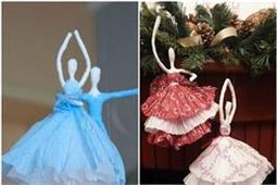 टिशू पेपर से खुद बनाएं रंग-बिरंगी Ballerina और सजाएं अपना घर