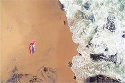 प्री-वैडिंग फोटोशूट के लिए चूनें Beach Concept और हर पल को बनाएं रोमांटिक
