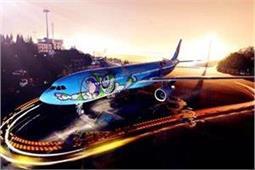 कार्टून कैरेक्टर के साथ लें हवाई सफर का मजा, याद आ जाएगा बचपन