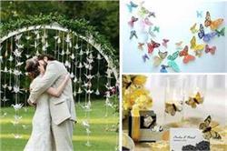 वैडिंग डैकोरेशन के लिए ट्राई करें Butterflies Wedding थीम और हर पल को बनाए यूनिक