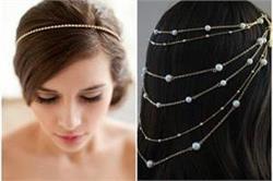 Hair chain accessories से वेस्टर्न आउटफिट्स के साथ पाएं ट्रेडिशनल लुक