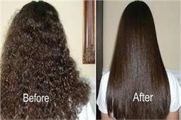 बिना कैमिकल्स के बालों को करें नेचुरली स्ट्रेट