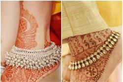 दुल्हन के पैरों की खूबसूरती और बढ़ा देंगी Anklets की ये 12 डिजाइन्स