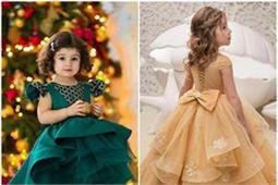 अपनी Little Princess की पार्टीवियर ड्रैस के लिए यहां से लीजिए ढेरों आइडियाज
