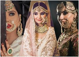 bridal naths for every kind of bride