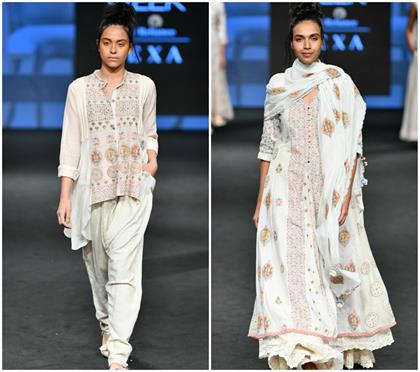 gazal mishra at lakme fashion week summer kurtis collection