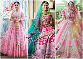 modern ways to amp up your pink bridal lehenga