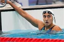 ओलंपिक में क्वालीफाई करने वाली पहली भारतीय स्विमर माना पटेल, मगर सेमीफाइनल में रहीं नाकाम
