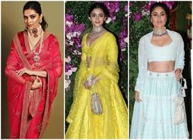 alia deepika priynaka and others celebs glam in akash shloka wedding