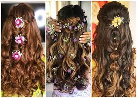 Hairstyle for festival season