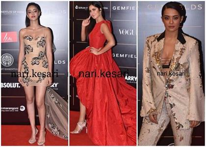 vogue women of the year 2019 actors trolled over shoes