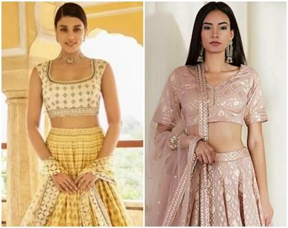 not only style comfort will also give light weight chanderi lehenga