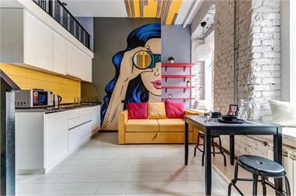 फोटो फ्रेम नहीं लगाना चाहते तो Graffiti Texture से दीवारों को दें नया...