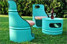 DIY Ideas: बेकार पड़े Tin Barrel को फेंके नहीं, डैकोरेशन के...