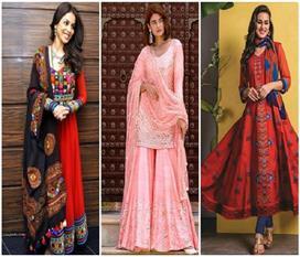 Indian ethnic dresses tips for navratri