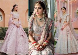 Powder Pink is new Bridal Lehenga trend