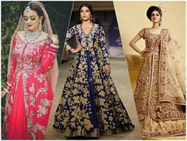 Stunning Jacket Style Lehenga Ideas For Winter Wedding