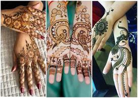 Mehndi designs for sawan