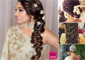 karva chauth special choose hair style according to the dress