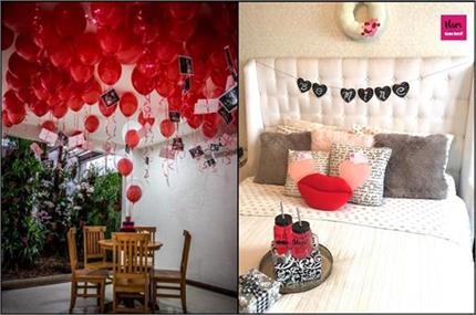 घर पर मनाने जा रहे हैं Valentine Day तो यहां से लीजिए डैकोरेशन के...