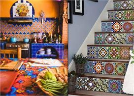 Mexican Tiles से घर को दें मॉर्डन और विटेंज लुक