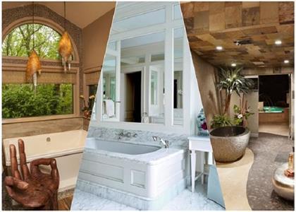 Latest design of spa bathrooms