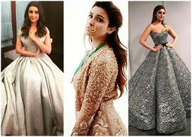 birthday special parineeti dresses are mix of an indian and western style