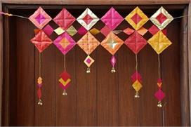 make DIY Toran for navratri special