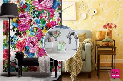 Wallpaper Designs for summer decoration