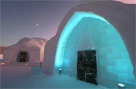 know about the ice hotel in sweden
