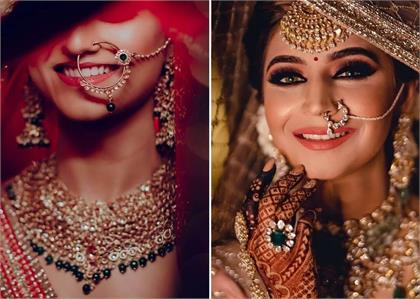 Latest Nath designs for indian brides
