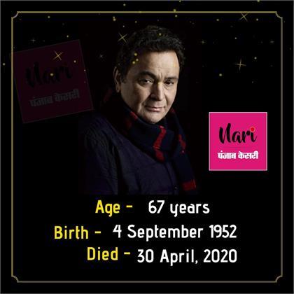 Rishi kapoor passed away