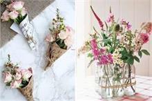 वॉस या गमले में नहीं, क्रिएटिविटी के साथ करें Flowers से...