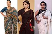 Vidhya Balan की बेस्ट Saree Look, गर्मियों में भी दिखेंगे...