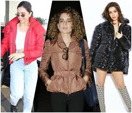 puffer jacket trend in bollywood see pics