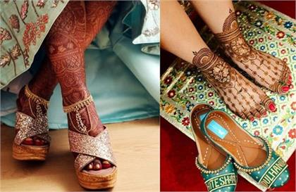 These bridal footwear will also show stylish with comfort