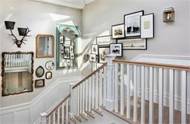 Stair wall decor tips