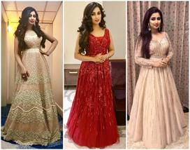 best gown design of shreya ghoshal