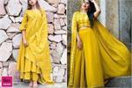 Navratri Speical: डांडिया-गरबा नाइट पर ट्राई करें यैलो ड्रेसेज