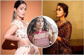 Celeb Style: हिना खान के 12 देसी लुक्स, फेस्टिव सीजन के लिए...