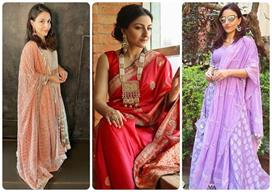 Soha Ali Khan के 12 ट्रेडिशनल आउटफिट्स, लड़कियों के लिए भी...
